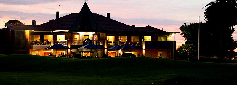 Patterson River Golf Club clubhouse-night
