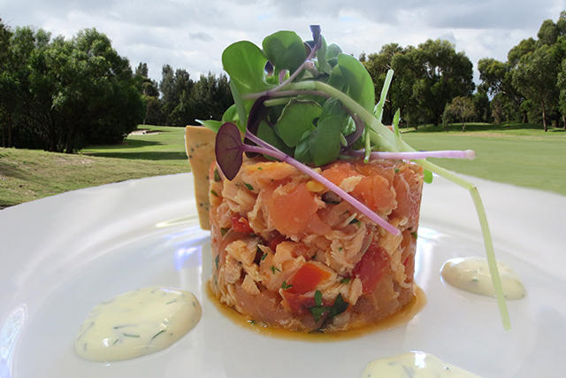 Patterson River Golf Club Function Venue entree-rilette-of-salmon