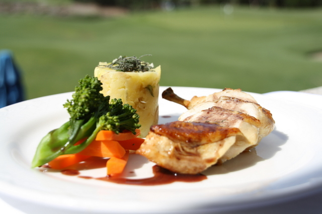 Patterson River Golf Club Function Venue Main Course Chicken