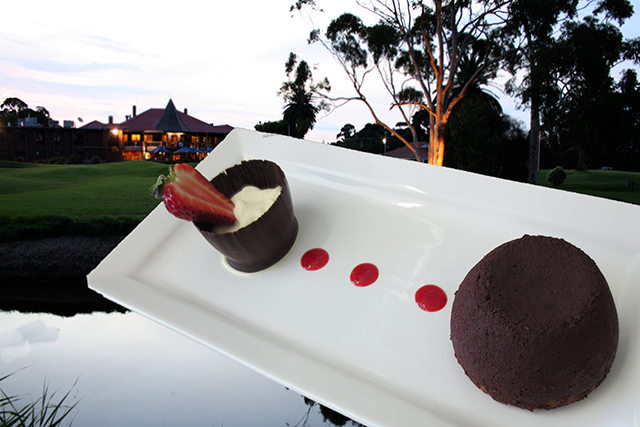 Patterson River Golf Club dessert-chocolate-fondant